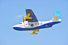 Grumman HU-16 Albatross Amphibious Flying Vessel Royalty Free Stock Photography