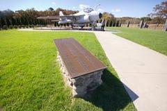 Grumman Pomnika Park NY Zdjęcia Royalty Free