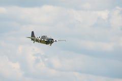 Grumman Wildcat aircraft Stock Photography