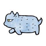 Grumpy cartoon cat Stock Photo