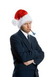 Grumpy man Royalty Free Stock Photography