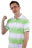 Grumpy Man Stock Photography