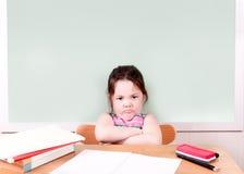 Grumpy Student Stock Image