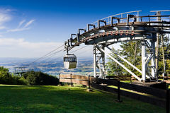 Grunberg Cable Car Royalty Free Stock Photos