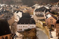 Grund from above Stock Images