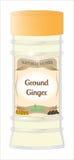 Grund-Ginger Herb Stockfoto