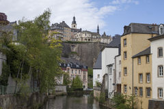 Grund, Luxembourg Royalty Free Stock Photo