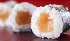 Grund maki Sushi Stockfotos