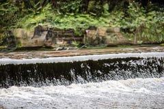 Grund vattenfall Royaltyfria Bilder