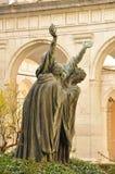 grundare av benedictinebeställningen som skriker för gud royaltyfria foton