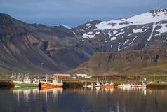 Grundarfjordur, Исландия стоковые изображения rf