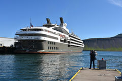 Grundarfjordur harbor Royalty Free Stock Image