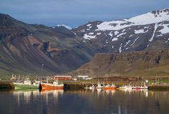 Grundarfjordur, Islande images libres de droits