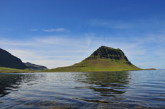 Grundarfjorur, Islândia Imagens de Stock Royalty Free