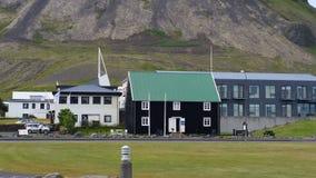 Grundarfjörður city, Iceland Stock Image