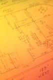 Grundbesitz-Übersicht Lizenzfreies Stockfoto