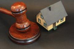 Grundbesitz-Auktion lizenzfreie stockfotografie