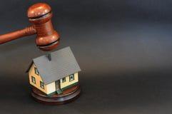 Grundbesitz-Auktion lizenzfreie stockbilder