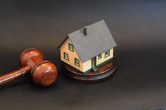 Grundbesitz-Auktion lizenzfreies stockbild