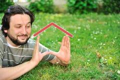 Grundbesitz, der Konzept träumt Lizenzfreies Stockfoto
