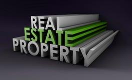 Grundbesitz-Eigentum lizenzfreie abbildung