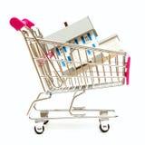 Grundbesitz-Einkaufen Stockfoto