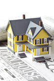 Grundbesitz für Verkauf Stockbild