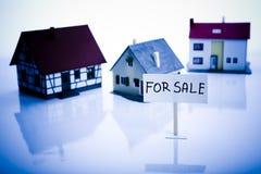 Grundbesitz - für Verkauf Stockfoto
