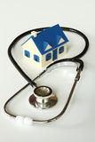 Grundbesitz-Gesundheit Stockbilder