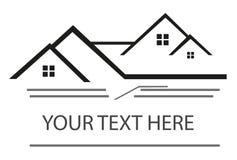 Grundbesitz? Häuser, Ebenen für Verkauf oder für Miete Stockfotos