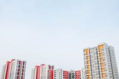 Grundbesitz? Häuser, Ebenen für Verkauf oder für Miete Stockfotografie