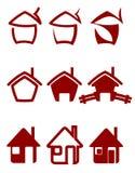 Grundbesitzsymbole vektor abbildung