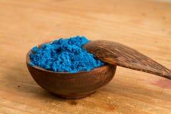Grundfarben: Blau stockfotografie