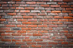 grundge κόκκινος τοίχος Στοκ εικόνα με δικαίωμα ελεύθερης χρήσης