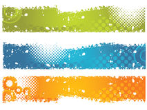 Grundge Banners. Banner easy to resize or change color Royalty Free Stock Photo