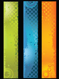 Grundge Banners. Banner easy to resize or change color Royalty Free Stock Photos