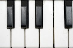 Grundgy Plasic Keyboard (Close View) Royalty Free Stock Image