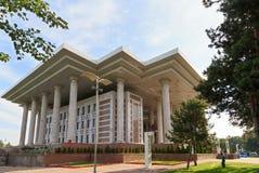 Grundlage des ersten Präsidenten des Republik Kasachstan Stockbild