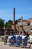 Grundlage von Rom stockbilder