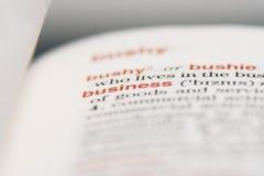 Grundlagen des Geschäftslebens Lizenzfreies Stockbild