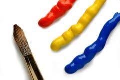 Grundlegende Farben Lizenzfreies Stockbild