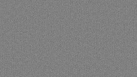 grundlegende Fernsehgeräusche ohne irgendwelche Effekte stock video