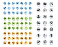 Grundlegende Web-Ikonen stellten #11 ein vektor abbildung