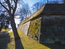 Grundligt trädgårds- staket av den Kramar villan, platsen av främsta ministe Royaltyfria Foton