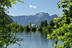 Grundlsee Castle Royalty Free Stock Images