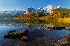 Grundlsee jezioro Fotografia Royalty Free