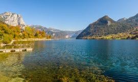 Grundlsee, Stiria, Austria immagine stock libera da diritti
