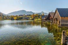 Grundlsee, Styria, Αυστρία στοκ φωτογραφία με δικαίωμα ελεύθερης χρήσης