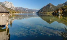 Grundlsee, Styria, Αυστρία στοκ εικόνες