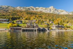 Grundlsee, Styria, Αυστρία στοκ εικόνα με δικαίωμα ελεύθερης χρήσης